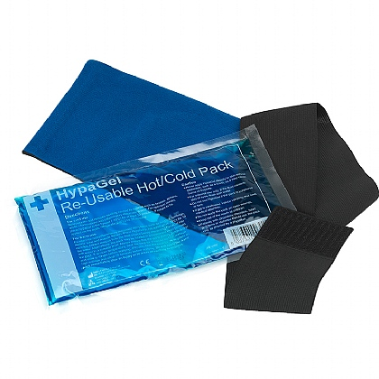 HypaGel Reusable Hot/Cold Gel Pack with Compression Cuff