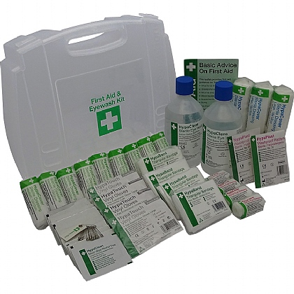 11-20 Persons First Aid and Eyewash Kit