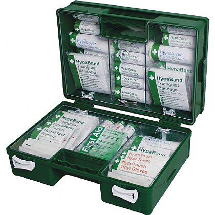 HSE 21-50 Person First Aid Kit in Deluxe ABS Case