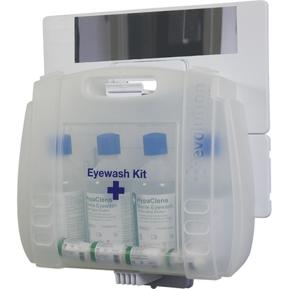 HypaClens Evolution Plus 4x500ml Eyewash Kit inc. Mirror
