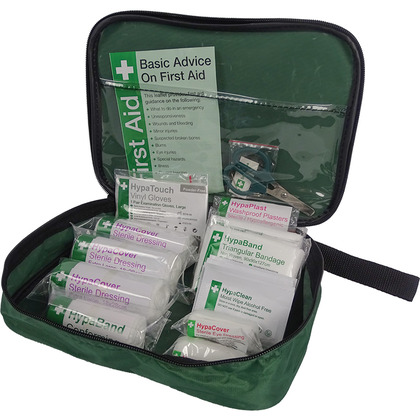PCV First Aid Kit in Nylon Case for minibus, bus and coach