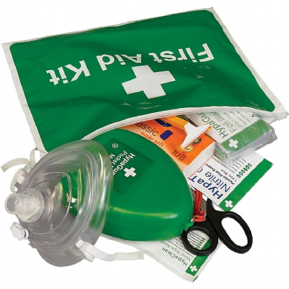 AED Responder Kit in Vinyl Zipper