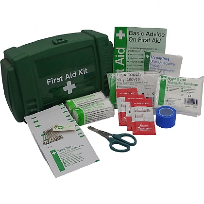 Evolution Bar/Kiosk Catering First Aid Kit - Green Case