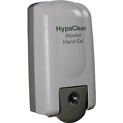 HypaClean Alcohol Hand Gel Dispenser, Empty