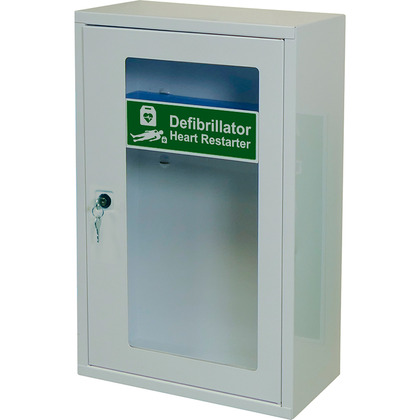 AED Defib Wall Cabinet with Key Lock