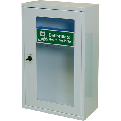 AED Defib Wall Cabinet with Thumb Lock