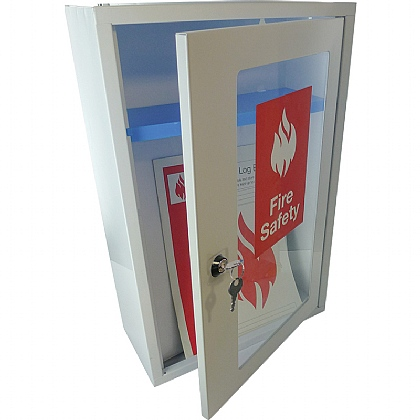 Fire Safety Document Cabinet with Key Lock