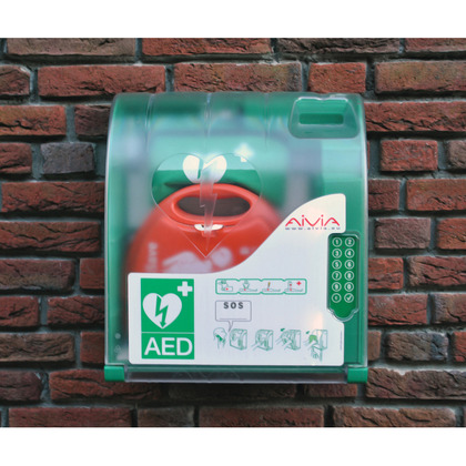 Outdoor AED Cabinet with Digicode