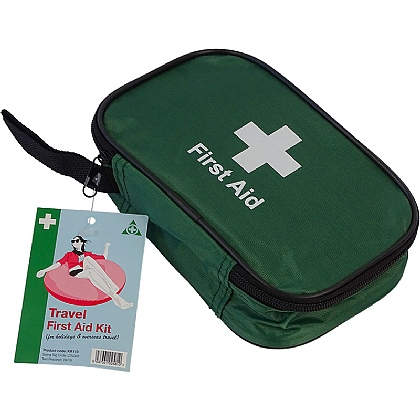 Travel First Aid Kit (For Holidays and Overseas Travel)