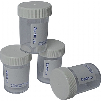 Specimen Pot, 60ml (Screw Top Cover)