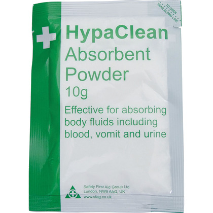 Super Absorbent Body Fluid Powder, 10g