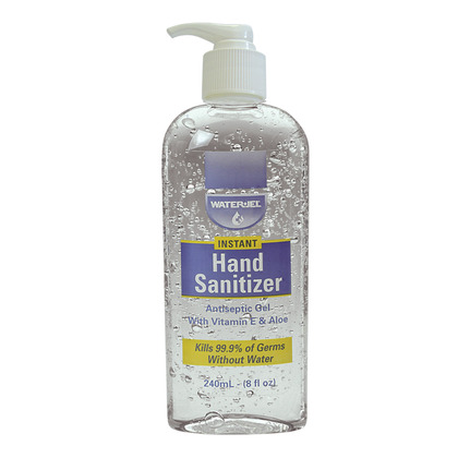 Water-Jel Hand Sanitiser Bottle 240ml