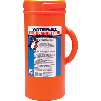 Water-Jel Fire Blanket Plus Canister