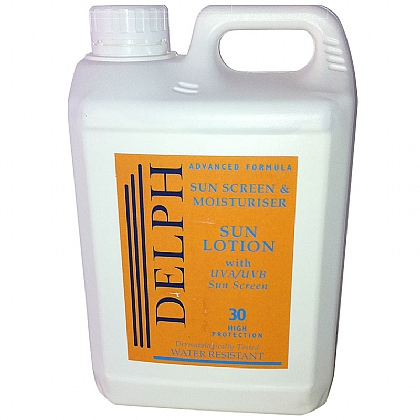 Delph Sun Lotion & Pump, SPF30 2L