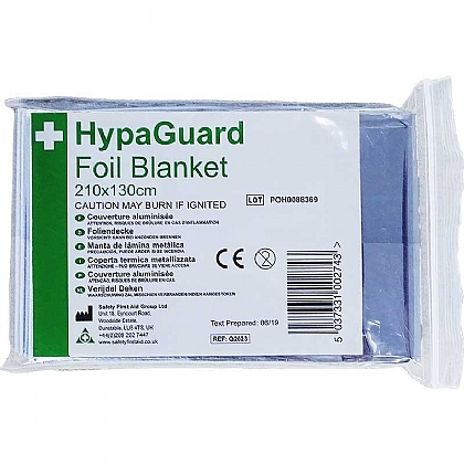 HypaGuard Foil Blankets, Box of 6