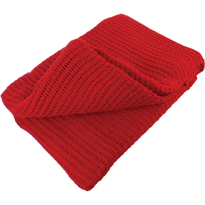 Warm Cotton Blanket, Red (150 x 200cm)