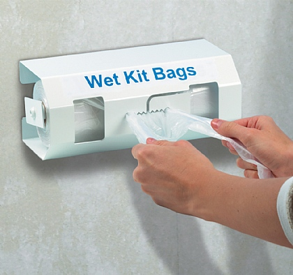 Wet Kit Bags Dispenser, Empty