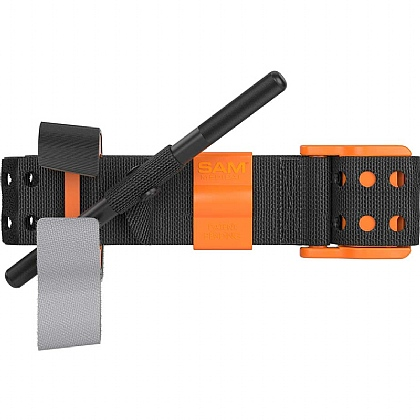SAM XT Extremity Tourniquet, Civilian - Black / Orange