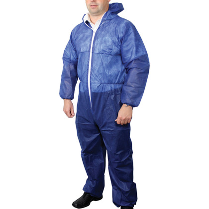 Disposable Overall, Blue (Large)