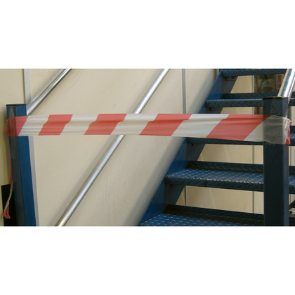 Barrier Tapes, Red/White
