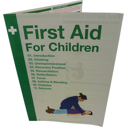 First Aid for Children A5 Leaflet