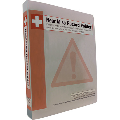 Near Miss Record Book Station