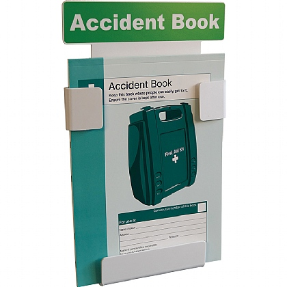 Accident Book Station + FREE Book