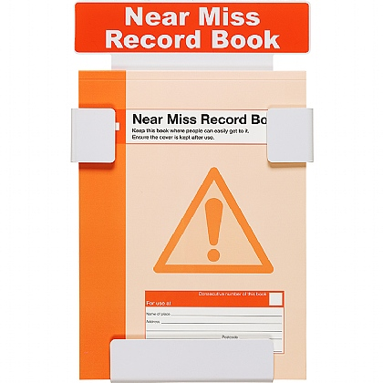Near Miss Record Book Station with Book