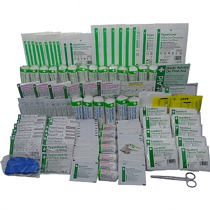 Industrial High-Risk First Aid Kit Refill 50+ Persons