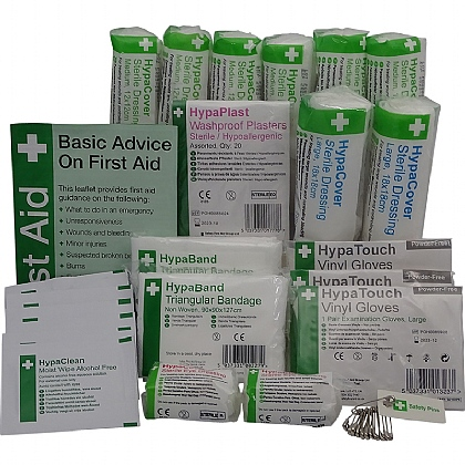 Workplace First Aid Kit Refill 1-10 Persons