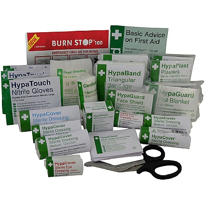 BS 8599 Compliant First Aid Kit Refill, Medium