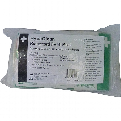 Biohazard Refill Pack, 2 Application