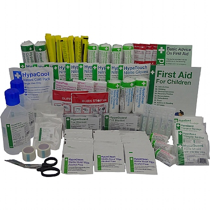 BS 8599 Compliant School First Aid Haversack Refill