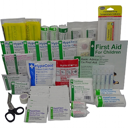 BS 8599 Compliant Primary School First Aid Kit Refill
