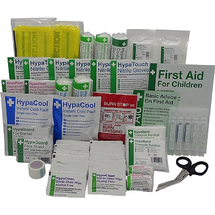 BS 8599 Compliant Secondary School First Aid Kit Refill Packs