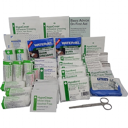 Comprehensive Catering First Aid Kit Refill 1-10 Persons