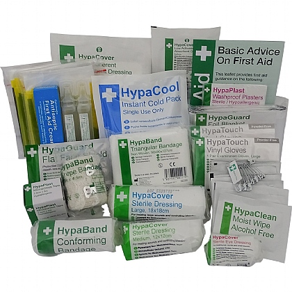 Compact Sports First Aid Refill