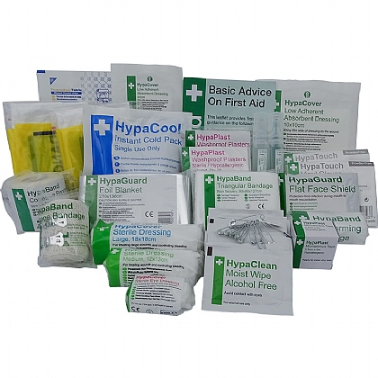 Essential Rugby First Aid Kit Refill