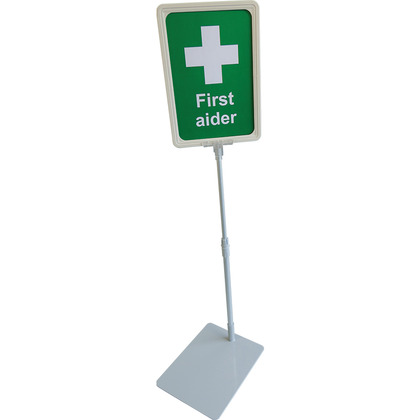 First Aider Desk Sign