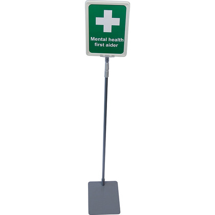 Mental Health First Aider Desk Sign