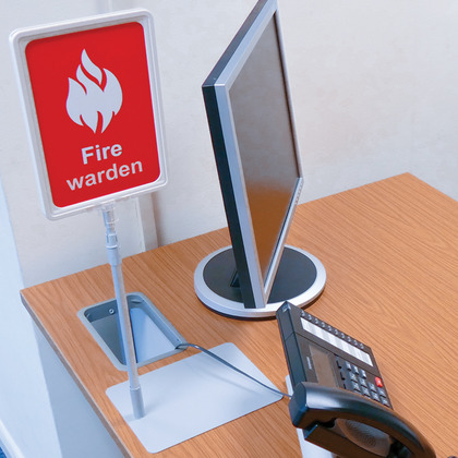 Fire Warden Desk Sign