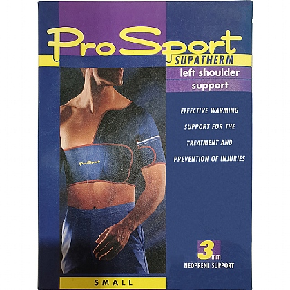 ProSport Left Half Shoulder Support, Small