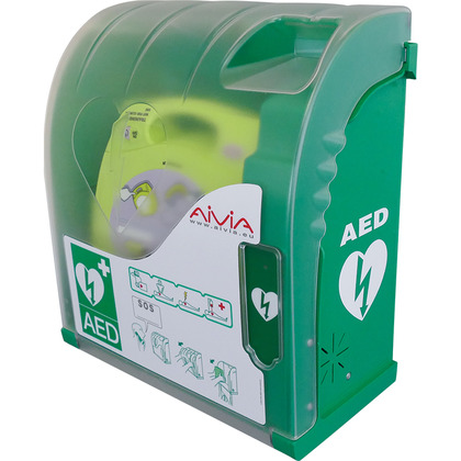 Alarmed Outdoor AED Cabinet